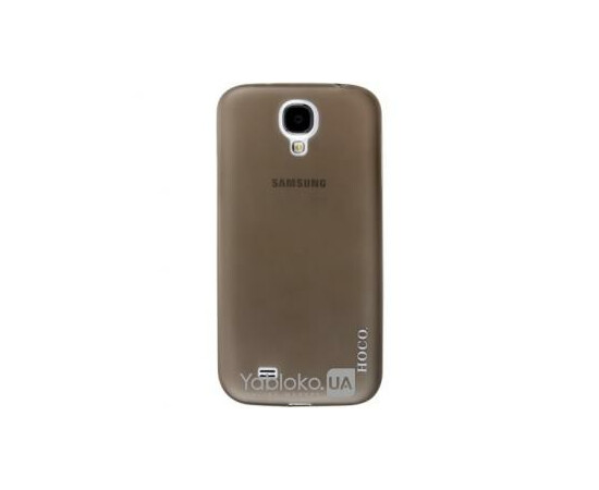 Чехол для Samsung I9500/9505 Galaxy S IV Hoco Ultra Thin Series Transparent Case (Black), фото