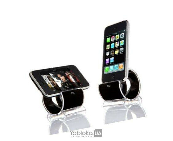 Sinjimoru Sync and Charge Dock Stand for iPhone 4/3G/3GS and iPod (Black), фото