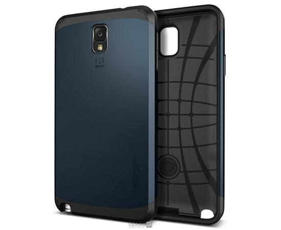 Чехол для Samsung Galaxy Note3 N9000 SGP Slim Armor Case (Blue), фото