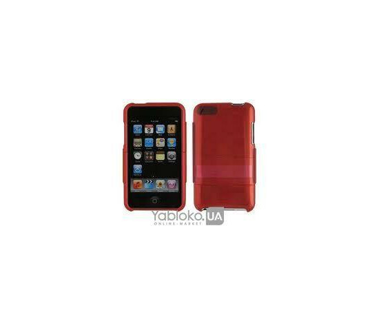 Чехол для iPod touch 2g пластиковый- Red, фото