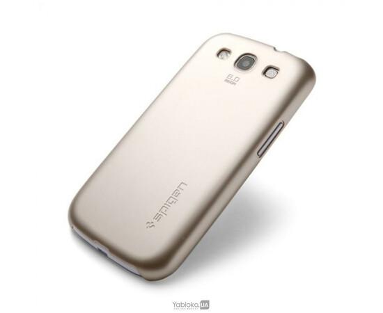 Чехол для Samsung Galaxy S III i9300 SGP Case Ultra Thin Air Series (Champagne Gold) SGP09229, фото