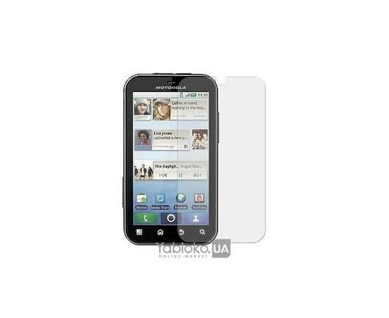 Защитные пленки для Motorola MB525/526 Defy+ ScreenGuard Crystal, фото