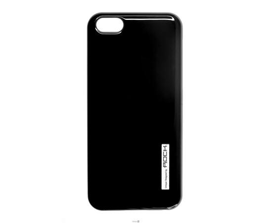 Чехол для iPhone 5C ROCK ethereal shell series Cover Case (Black), фото