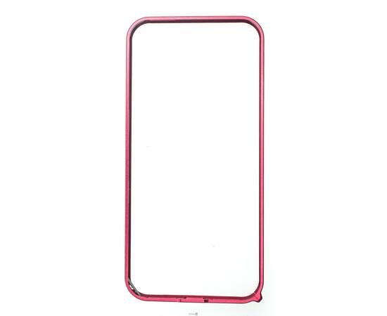 Чехол-бампер для iPhone 5/5S Cross-Line Aluminum Ultra Thin Bumper 0.7 mm (Red), фото