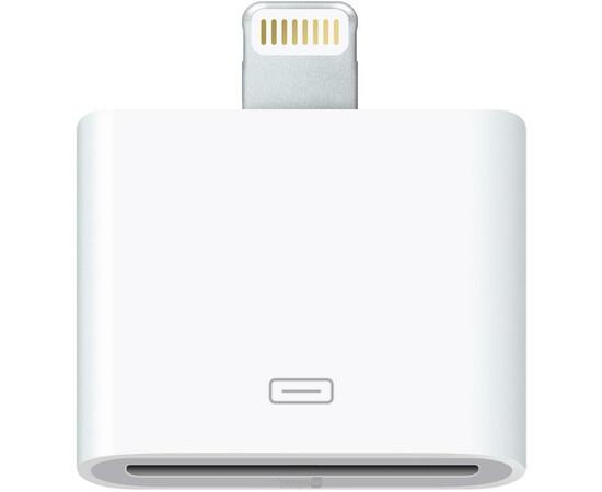 Apple Переходник Lightning to 30-pin Adapter (MD823), фото