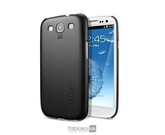 Чехол для Samsung Galaxy S III i9300 SGP Case Ultra Thin Air Series (Smooth Black), фото
