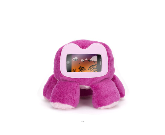 Мягкая игрушка-подставка Woogie для iPhone/iPod (Pink), фото