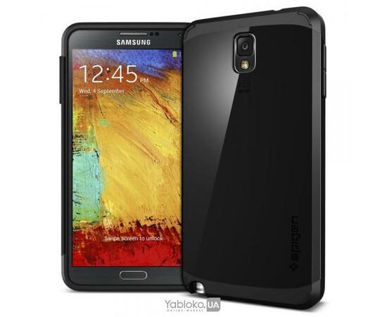 Чехол для Samsung Galaxy Note3 N9000 SGP Slim Armor Case (Black), фото