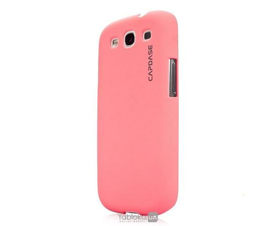 Чехол для Samsung Galaxy S III i9300 Capdase Karapace Jacket Touch (Orchid Pink), фото