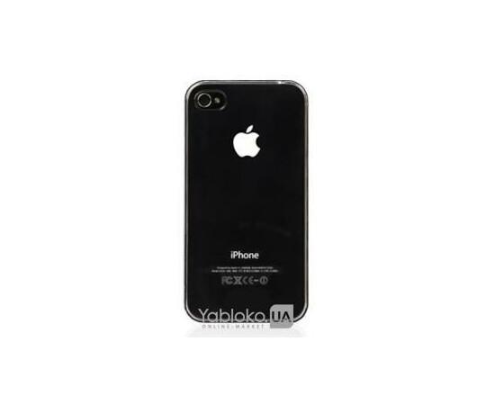 Чехол пластиковый LED для iPhone 4/4S (Black), фото