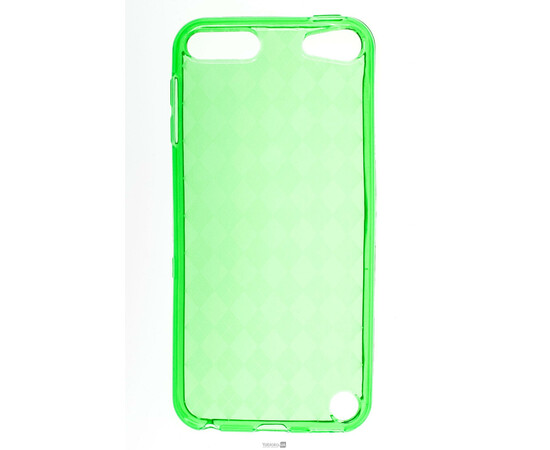 Чехол для iPod Touch 5G Evecase Solar Gel Flexible Cover Case (Green), фото