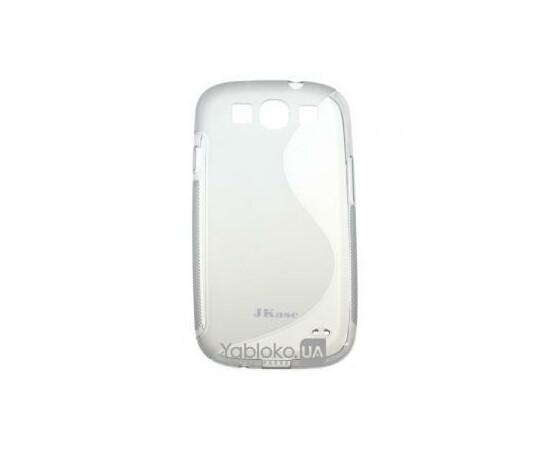 Чехол для Samsung I9300 JKase Silicone (Gray), фото