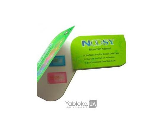 Адаптер NOOSY Micro Sim Adapter Set (2 pcs in 1 package), фото