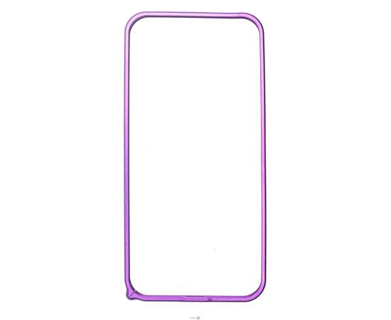 Чехол-бампер для iPhone 5/5S/SE Cross-Line Aluminum Ultra Thin Bumper 0.7 mm (Purple), фото