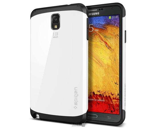 Чехол для Samsung Galaxy Note3 N9000 SGP Slim Armor Case (White), фото