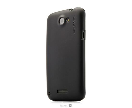 Чехол Capdase Alumor Jacket Elli for HTC One X (Black/Black), фото
