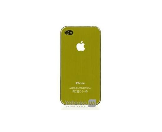 Чехол пластиковый LED для iPhone 4/4S (Gold), фото