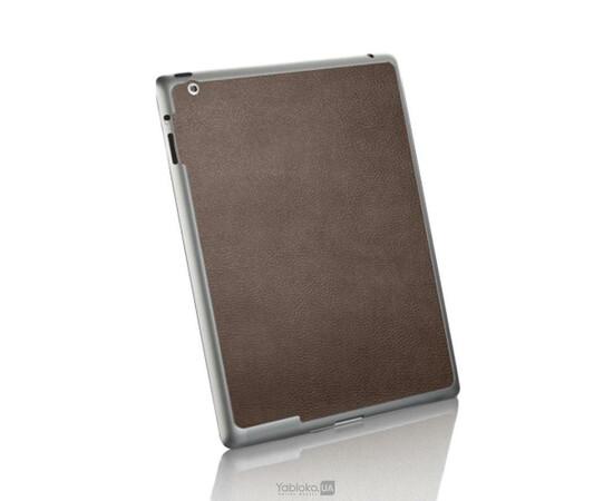Кожанная наклейка для iPad 2/3/4 SGP Skin Guard (Brown)SGP07594, фото