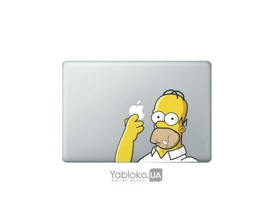 Наклейки AppleJam на Macbook, фото