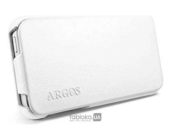 Чехол для iPhone 5/5S/SE SGP Leather Case Argos White (SGP09599), фото