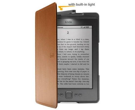 Обложка с подсветкой для Amazon Kindle 4/5 (Brown), фото