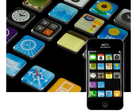 Магниты iPhone App Magnets, фото