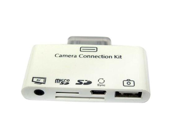 Переходник для iPad Connection kit with AV output (White) вид разъемов