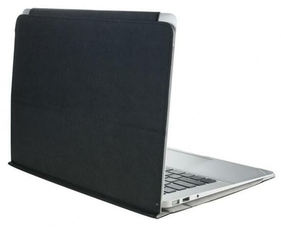 "Чехол для MacBook Air 11"" iPearl Sleek Leather Case (Black), фото , изображение 2"