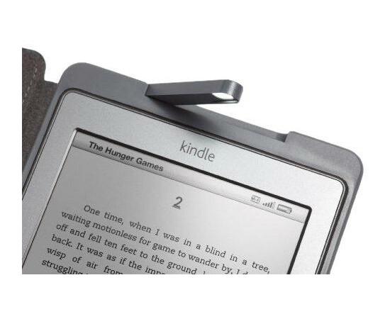 Обложка с подсветкой для Amazon Kindle 4/5 (Brown), фото , изображение 2