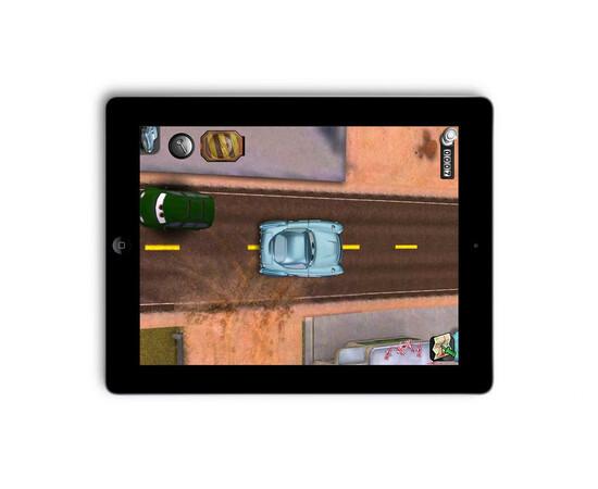Машинки для iPad Disney Pixar Cars 2 AppMATes -(Mater+Finn)  Spin Master (2 Car), фото , изображение 2