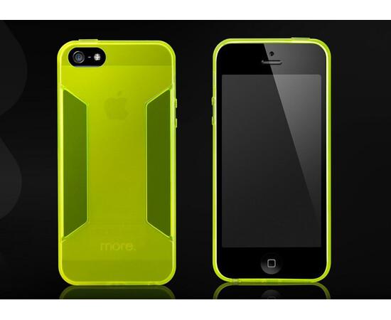 Чехол для iPhone 5C More Para Collection (Neon Yellow), фото