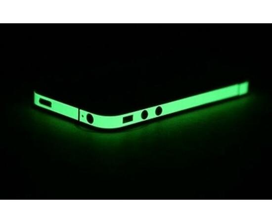 Люминесцентная пленка для  iPhone 4/4S Luminescent Film green, фото , изображение 2