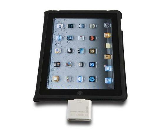 Переходник для iPad Connection kit 5+1 in 1(White) в девайсе