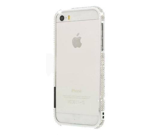 Чехол-бампер для iPhone 5/5S/SE More Color Gem Lucent (Diamond), фото