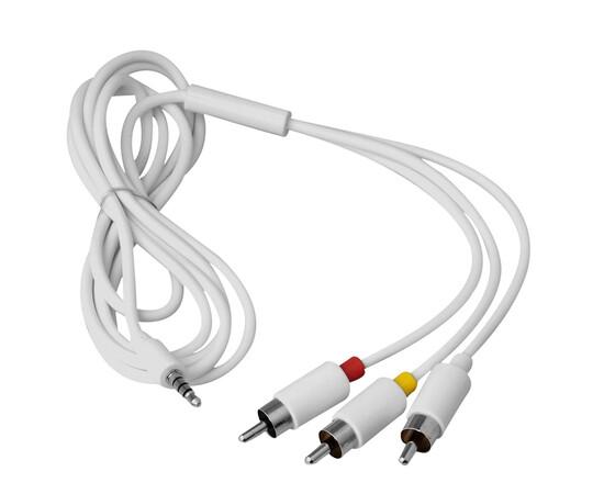 Переходник для iPad Connection kit with AV output (White) кабель