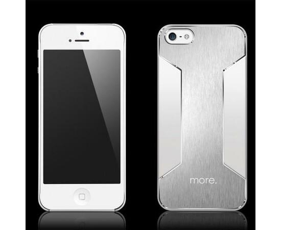 Чехол для iPhone 5C More Para Metallic Series (Mercury-Silver), фото , изображение 2