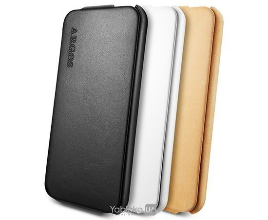 Чехол для iPhone 5/5S/SE SGP Leather Case Argos White (SGP09599), фото , изображение 2