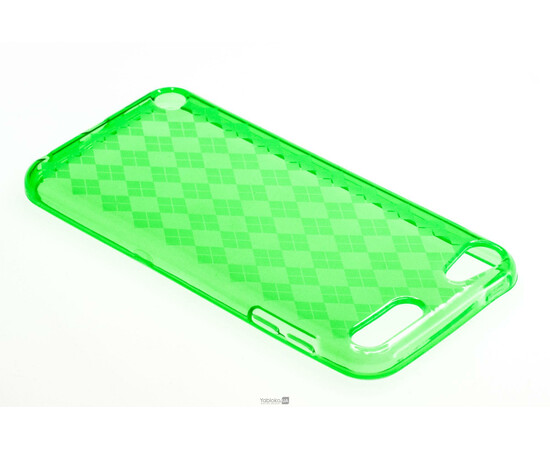 Чехол для iPod Touch 5G Evecase Solar Gel Flexible Cover Case (Green), фото , изображение 3