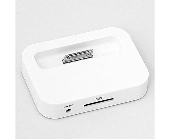 Док-станция для iPhone 4/4S- White, фото , изображение 3