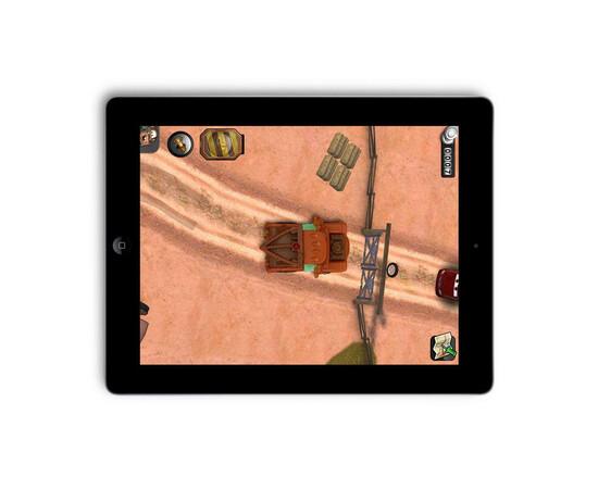 Машинки для iPad Disney Pixar Cars 2 AppMATes -(Mater+Finn)  Spin Master (2 Car), фото , изображение 3