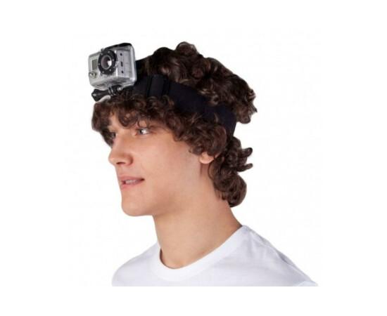 Крепление на голову для камеры GoPro Head Strap Mount (GHDS30), фото , изображение 3
