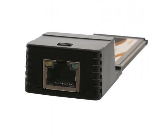 Адаптер Realtek RTL8111 ExpressCard 1000Mbps Network Ethernet Port, фото , изображение 2