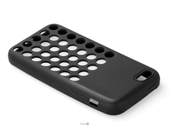 Чехол для iPhone 5C Silicon Back Cover Soft Skin Case (Black), фото , изображение 3