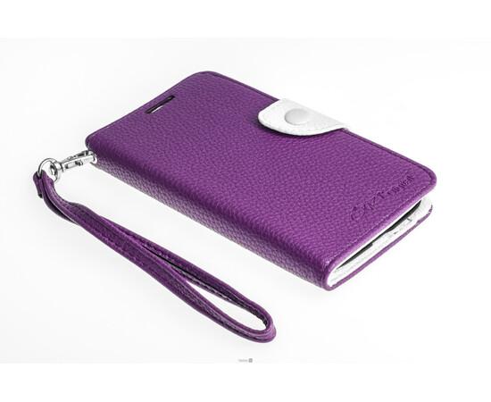 Чехол для Samsung Galaxy S4 Crazy on Digital Card Holder Flip Case Cover (Violet/White), фото , изображение 3