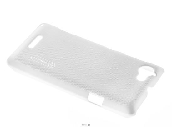 Чехол для Sony Xperia L Nillkin Super Shield (White), фото , изображение 3