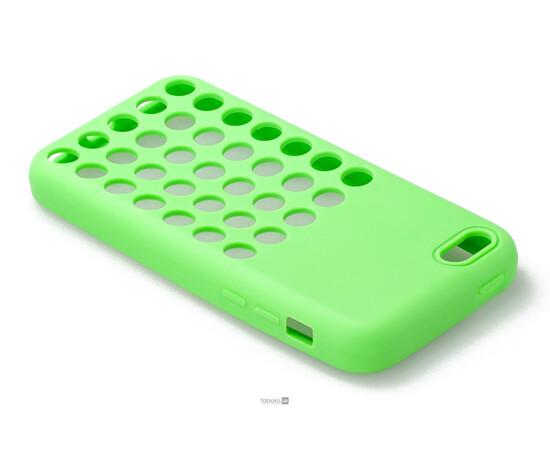 Чехол для iPhone 5C Silicon Back Cover Soft Skin Case (Green), фото , изображение 3