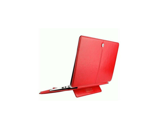 "Чехол Teemmeet для MacBook Air 13"" (Red), фото , изображение 2"