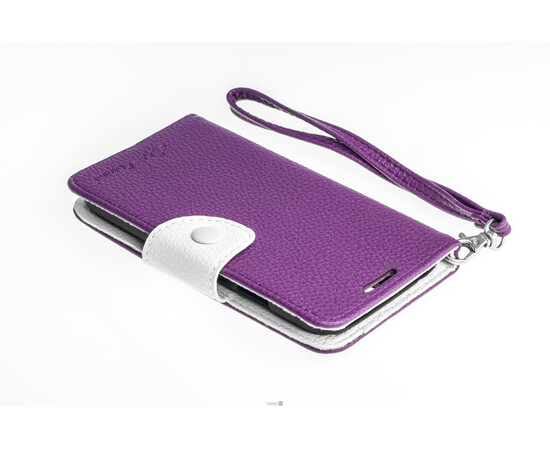 Чехол для Samsung Galaxy S4 Crazy on Digital Card Holder Flip Case Cover (Violet/White), фото , изображение 4