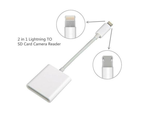 Apple Адаптер Lightning to SD Card Reader (MD822) вид под углом
