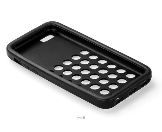 Чехол для iPhone 5C Silicon Back Cover Soft Skin Case (Black), фото , изображение 4